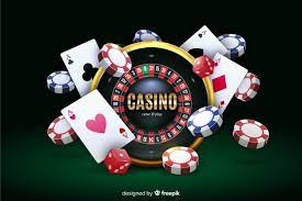 Realistic casino background | + Free Vectors